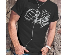 T-shirt Boyko-Sport Black  (light inscription)
