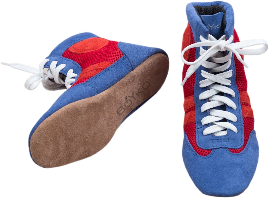 modern and elegant in fashion get new quality products Mash and Leather Sambo Shoes Boyko-Sport / Boyko Sport