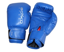 10-ounce Vinyl Boyko-Sport Gloves Blue