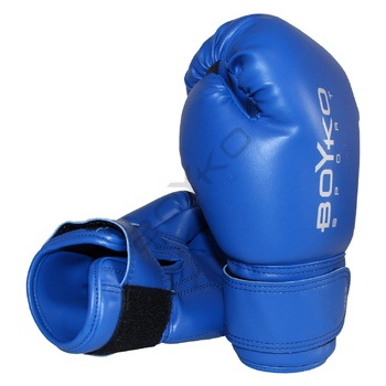 8-ounce Vinyl Boyko-Sport Gloves Blue