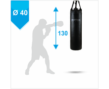 Punching Bag d-40cm h-130cm, PVC on straps, 35-50 kg