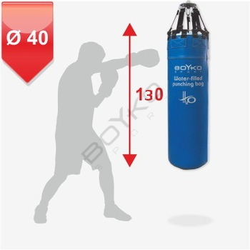 Leather Water Punching Bag d40 130cm