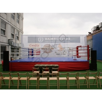 Professional Platform Boxing Ring 7,5х7,5х1 m. Ropes 6,1х6,1 m.