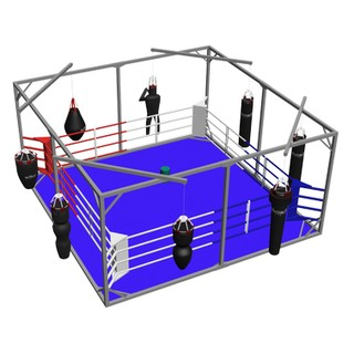 Boxing rings in a Сube