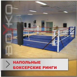 Floor-Mounted Boxing Rings